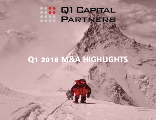 Canadian Technology M&A Report 2018 Q1
