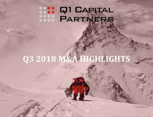 Canadian Technology M&A Report Q3 2018