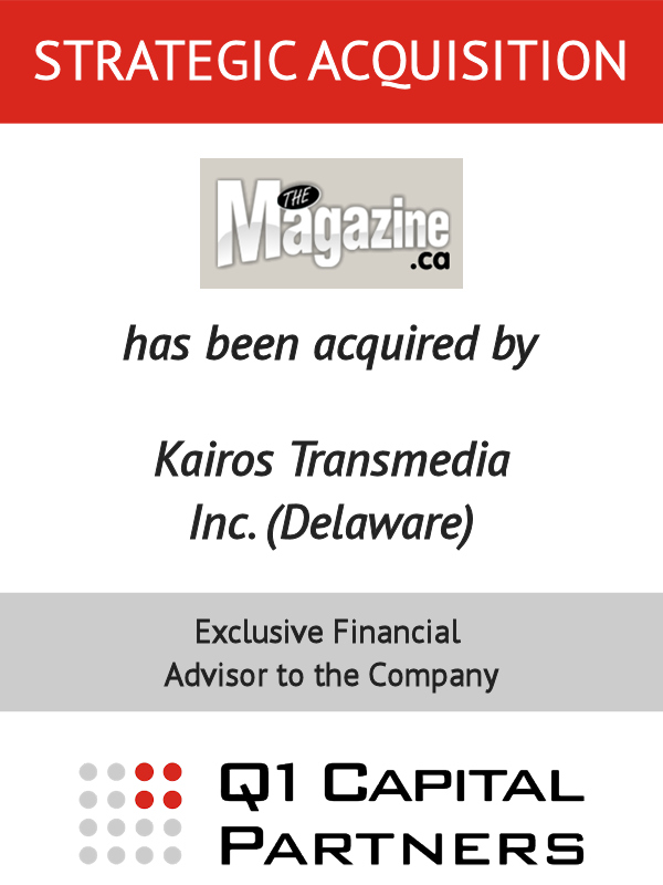 The Magazine - Kairos Card